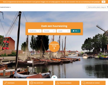 Website Noord Veluwe